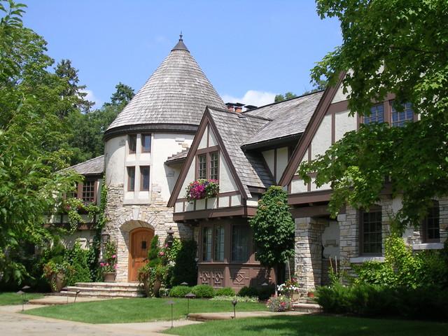 Timeless Tudor Estate Traditional Exterior Minneapolis By