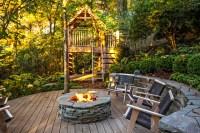 Washington DC Landscape and Backyard Play Project - Rustic ...