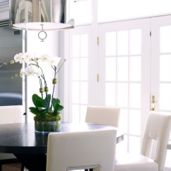 Round Dining Chairs And Table Rentals Modern Classic Interiors - Room New York By Susan Glick