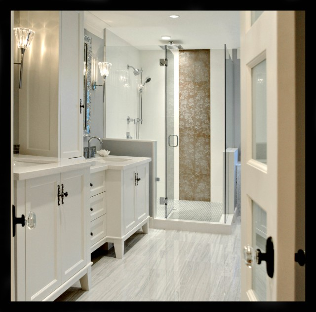 White Rock Traditional Bathroom Vancouver By Enviable Designs Inc