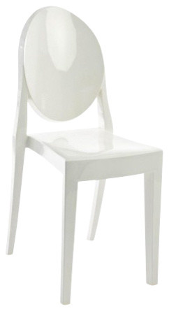 victoria ghost chair angling accessories set of 2 matte armchairs and accent chairs glossy white