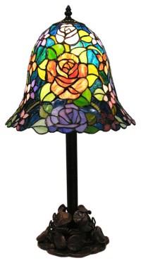 Warehouse of Tiffany Rinji Water Lily Tiffany Style Table ...
