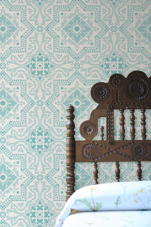 Lisboa Tile Stencil by Royal Design Studio