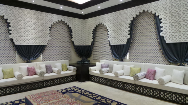 Interior Designers Decorators Abu Dhabi Moroccan Majlis Modern Living Room