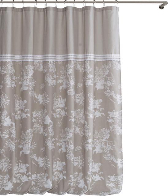 Kensie Clara Shower Curtain  Farmhouse  Shower Curtains  by Duck River Textile kensie lala