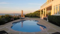 Hamptons Waterfront Backyard Pool