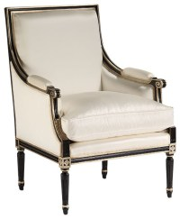 Louis Xvi Upholstered Armchair - Traditional - Armchairs ...