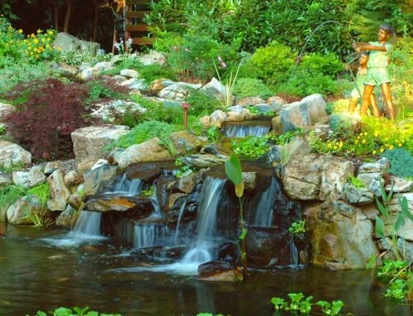 natural waterfalls - traditional