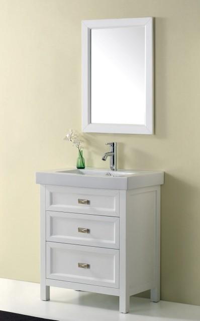 White Vanities  Torun 700mm Freestanding Bathroom Vanity