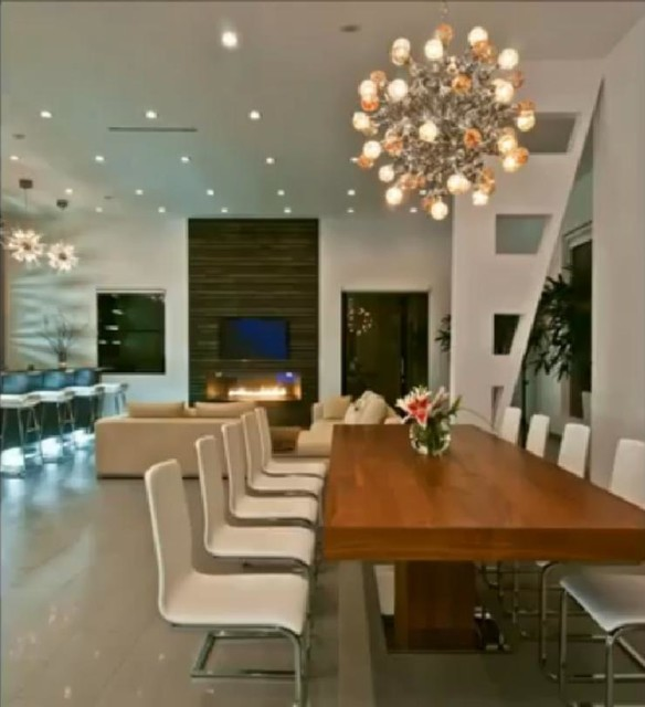 Luxury Modern House In Hollywood Hills Contemporary