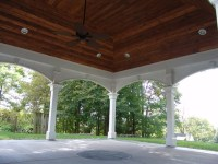 Vaulted covered patio - Traditional - Patio - other metro ...