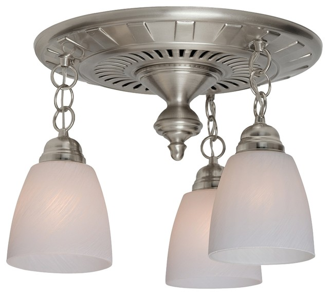 garden district decorative bath fan with light brushed nickel