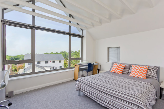 Modern Interiors contemporary-bedroom