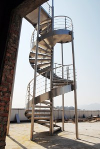 Outdoor Spiral Staircase - Contemporary - Staircase - by ...