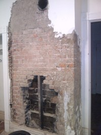 Exposed Brick Fireplace - Now What?