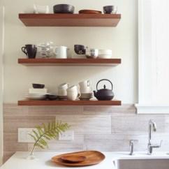 Metal Kitchen Shelf Industrial Backsplash How To Arrange Open Shelves In The