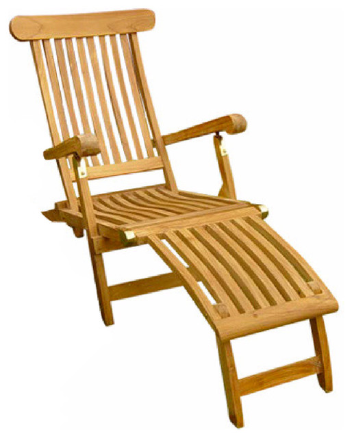 teak steamer chair salon reception chairs traditional outdoor chaise lounges by classic j m decorationsinc