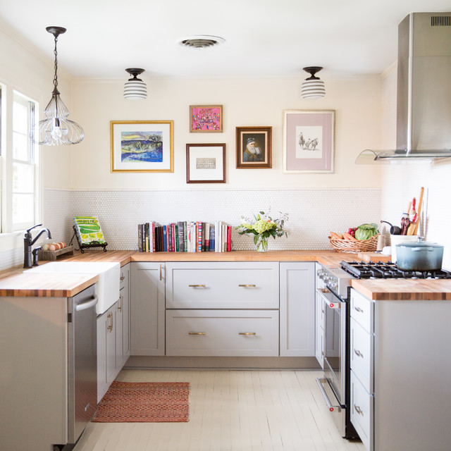 7 Small U Shaped Kitchens Brimming With Ideas