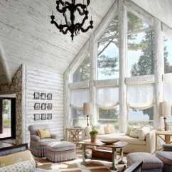 Cabin Style Living Room Decorations Images Get Cozy With Decorating Town Country Photo By Jessica Jubelirer Design