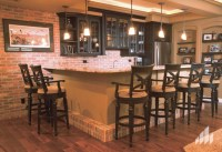 Accent wall using the color, Englishpub thin brick. - Home ...