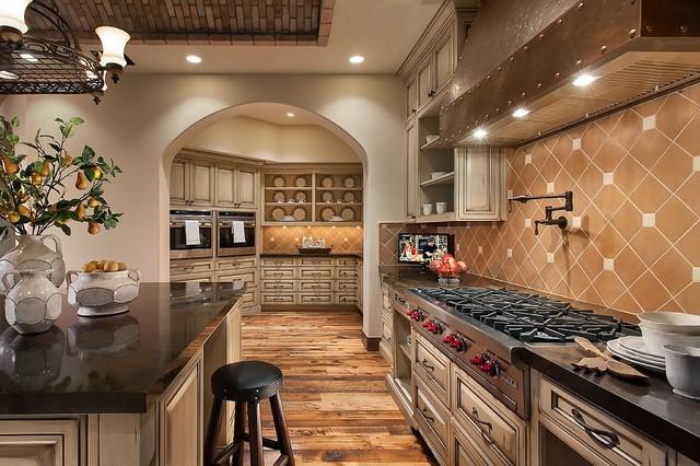Southwestern Ranch  Traditional  Kitchen  Phoenix  by