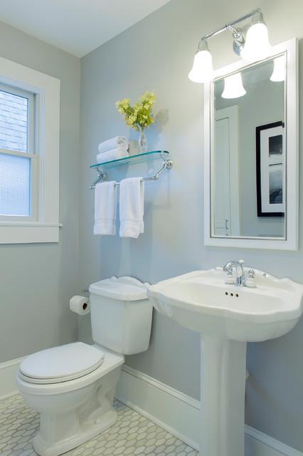 Cape Cod Beach House Remodel  Beach Style  Bathroom  boston  by Hammond Design