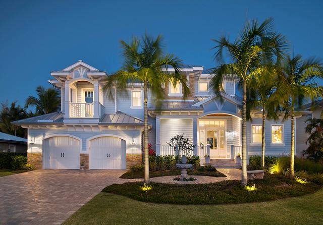 Old Florida Home Tropical Exterior Miami By Weber Design