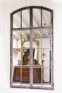 Wallrocks French Wrought Iron Mirror - Country - Wall ...