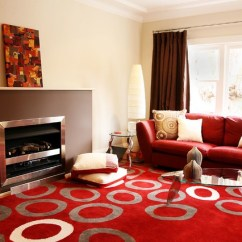 American Furniture Living Room Sectionals Modern Tables For Red And Brown - Contemporary ...