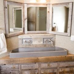 Houzz Sofas Sofa Corner Leather Uk Custom Vanity - Rustic Bathroom Other By ...