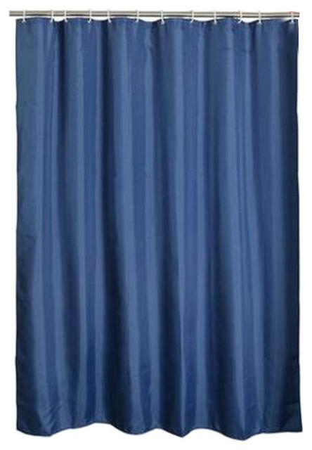 dark blue polyester waterproof shower curtain bathroom curtain bathroom decor