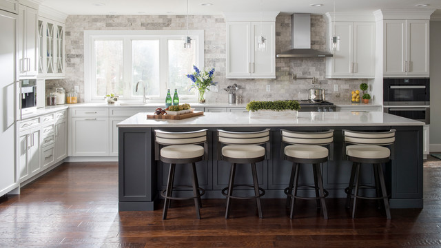 Transitional Elegance transitional-kitchen