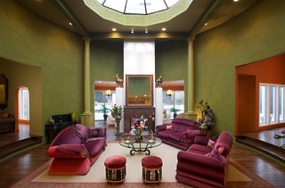interior decorating  by Janine Dray 地中海-リビング