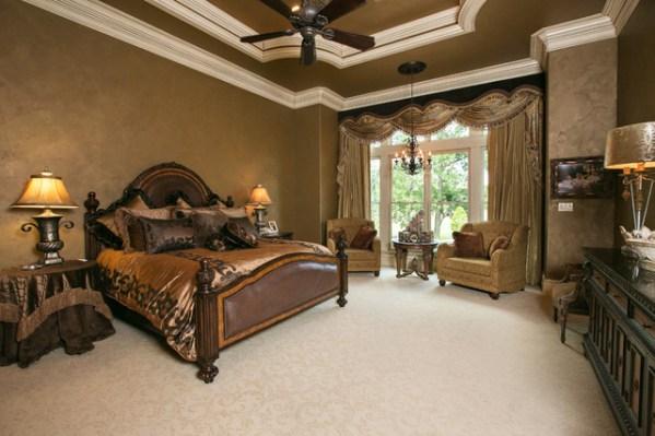 mediterranean bedroom design Master Bedroom - Mediterranean - Bedroom - Other - by Terry M. Elston, Builder