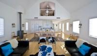 SWAN FISH CAMP - Rustic - Living Room - minneapolis - by ...