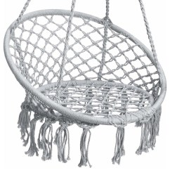 Hanging Hammock Chair Easy India Macrame Swing Lounge Beach Style Hammocks And Chairs By Brawbuy Deals