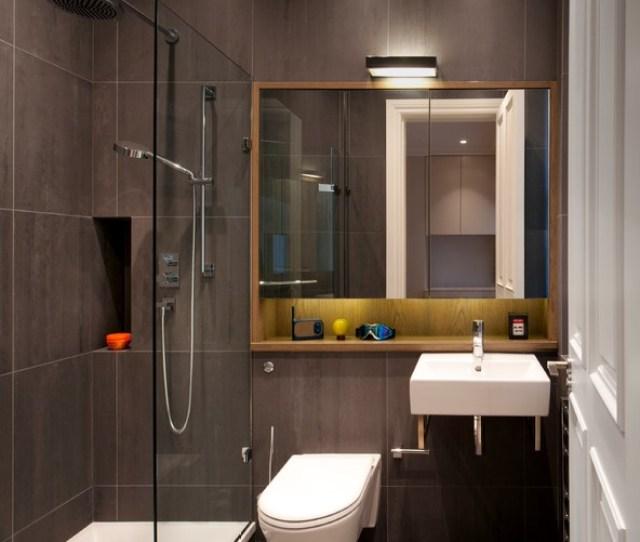 Luxury Apartment In Queens Gate Contemporary Bathroom