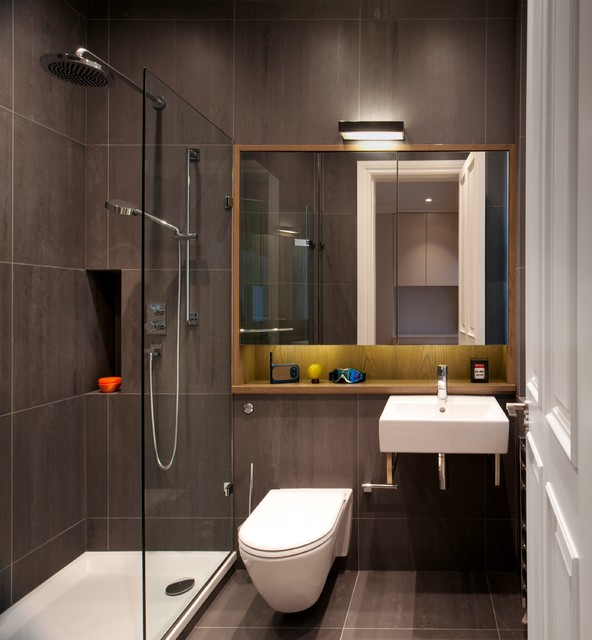 small sofas for rooms uk red curved sofa luxury apartment in queen's gate - contemporary bathroom ...
