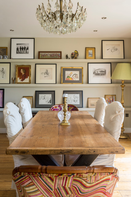 Oakfield House, Malvern rustic-dining-room