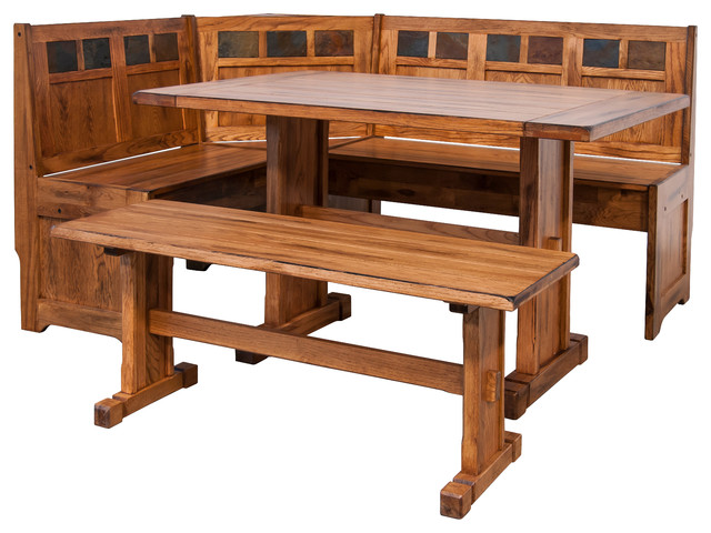 Sedona Breakfast Nook Set With Side Bench
