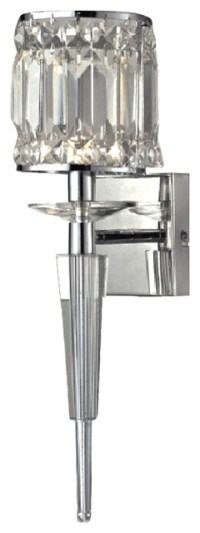 Cahas Crystal Wall Sconce - Contemporary - Wall Sconces ...