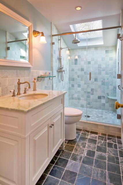 Charming Cape Cod Renovation  Traditional  Bathroom  New York  by Knight Architects LLC