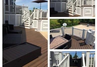 Trex Transcend Composite Deck Houzz Home Design