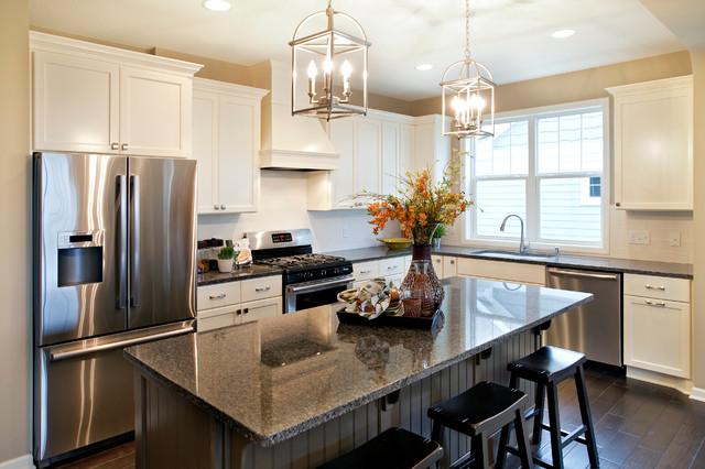 Belmont Model Home Kitchen  Traditional  Kitchen