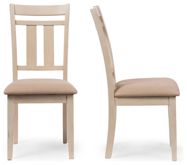 antique oak dining chairs chair design for living room roseberry french and distressed white side set of 2 by baxton studio