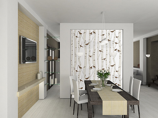 Dining Room Focal Wall