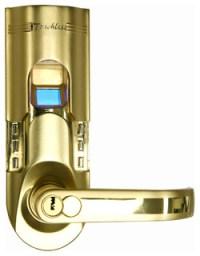 iTouchless Fingerprint Recognition Keyless Door Lock ...