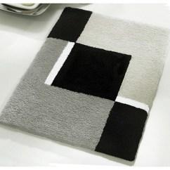 Kitchen Runner Washable Movable Cabinets Vita Futura Small Bath Rug, Modern Anti Skid Bathroom Rug ...