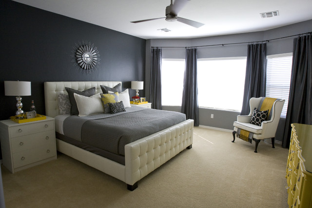 Michelle's Master Bedroom. contemporary-bedroom
