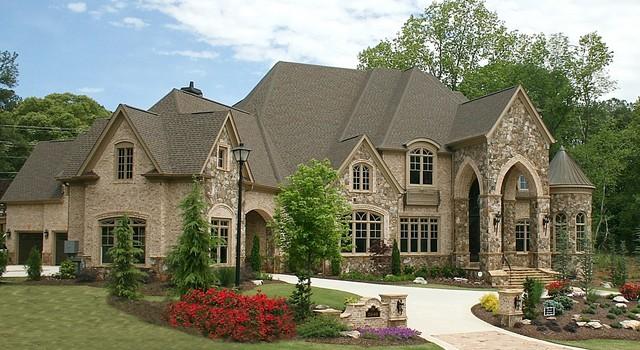 Luxury European Style Homes  Transitional  Exterior  Atlanta  by Alex Custom Homes LLC